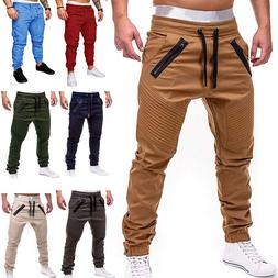 <font><b>Men</b></font> Casual Joggers <font><b>Pants</b></f