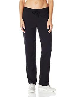 Hanes Women's French Terry Pant Ebony XL