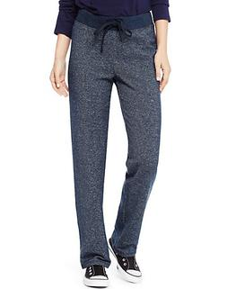 Hanes Women's French Terry Pant Navy Heather L
