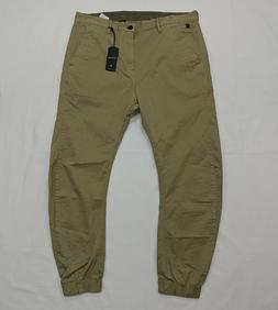 G-Star Raw Bronson Zip Tapered Cuffed Chino Pants Joggers Me