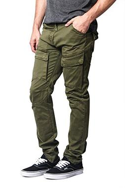Victorious G-Style USA Men's Front Cargo Pocket Biker Style