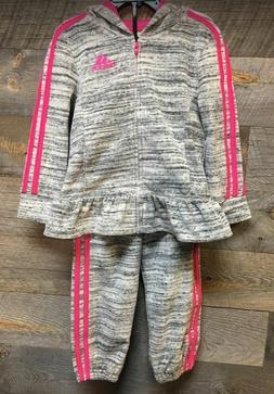 Adidas Girls' 2-piece Jogger Set, 4T NWT