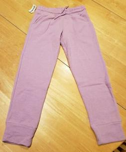 Girls Size 8 Old Navy Relaxed Joggers Pants Sweatpants Purpl