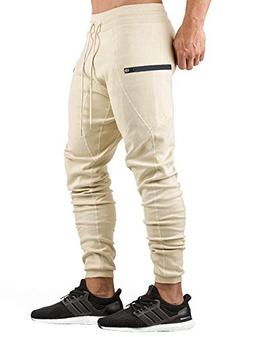 AKARMY Men's Gym Joggers Pants Fitness Casual Running Trouse