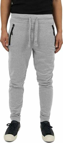 Hat And Beyond Mens Fleece Jogger Pants Classic Casual Slim