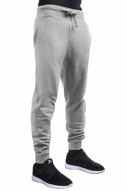 Hat And Beyond Mens Jogger Pants Active Fleece Elastic Draws