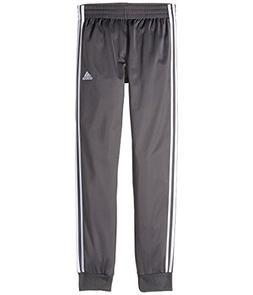adidas Kids  Boy's Iconic Tricot Jogger Pants  Grey Five MD
