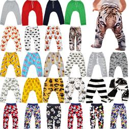 Infant Baby Boys Girls Harem Long Joggers Pants Trousers PP