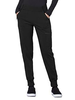 Cherokee Infinity CK110A Mid Rise Tapered Leg Jogger Pant Bl