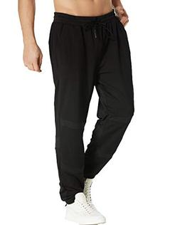 MODCHOK Men's Jogger Casual Track Pants Gym Running Tapered