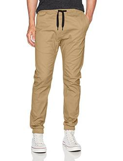 jogger pants basic solid stretch