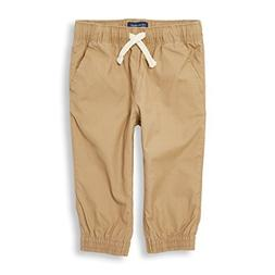 The Children's Place Baby Boys Jogger Pants, Flax, 9-12MOS
