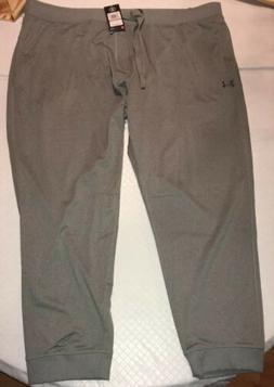 UNDER ARMOUR JOGGERS Loose Fit SWEATPANTS Gray 4XL Running C