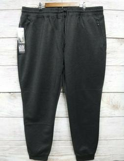 Southpole Joggers Mens Size 5XB Gray Tech Fleece Slim Fit Jo