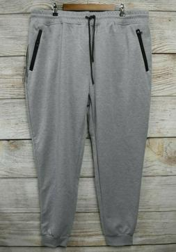Southpole Joggers Mens Size 5XB  Grey Tech Fleece Skinny Pan