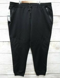 Southpole Joggers Mens Size 6XB Black Tech Fleece Slim Fit J