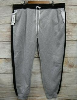 Southpole Joggers Mens Size 6XB Gray & Black Fleece Slim Fit