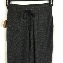 Rachel Roy Joggers Womens XS Junior Dark Gray Zip Ankle Draw