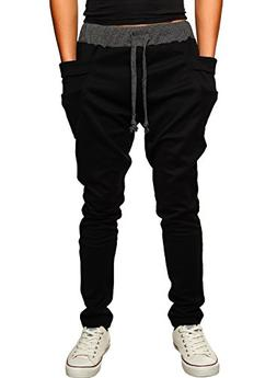 HEMOON Mens Jogging Pants Tracksuit Bottoms Training Running