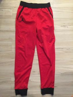 Nike Jordan Boys Jogger Pants Gym Red Youth Size XL