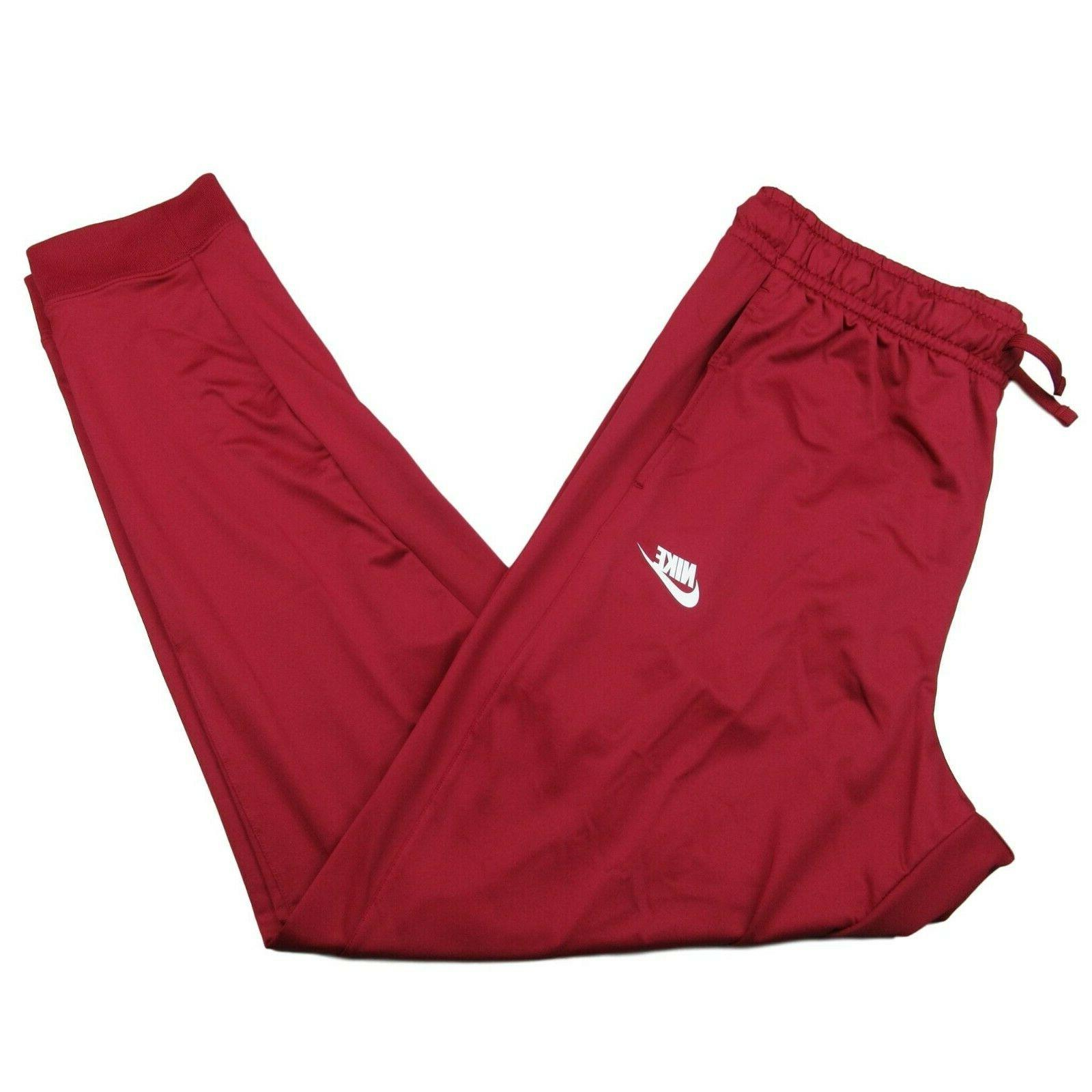 activewear track jogger pants burgundy red taper