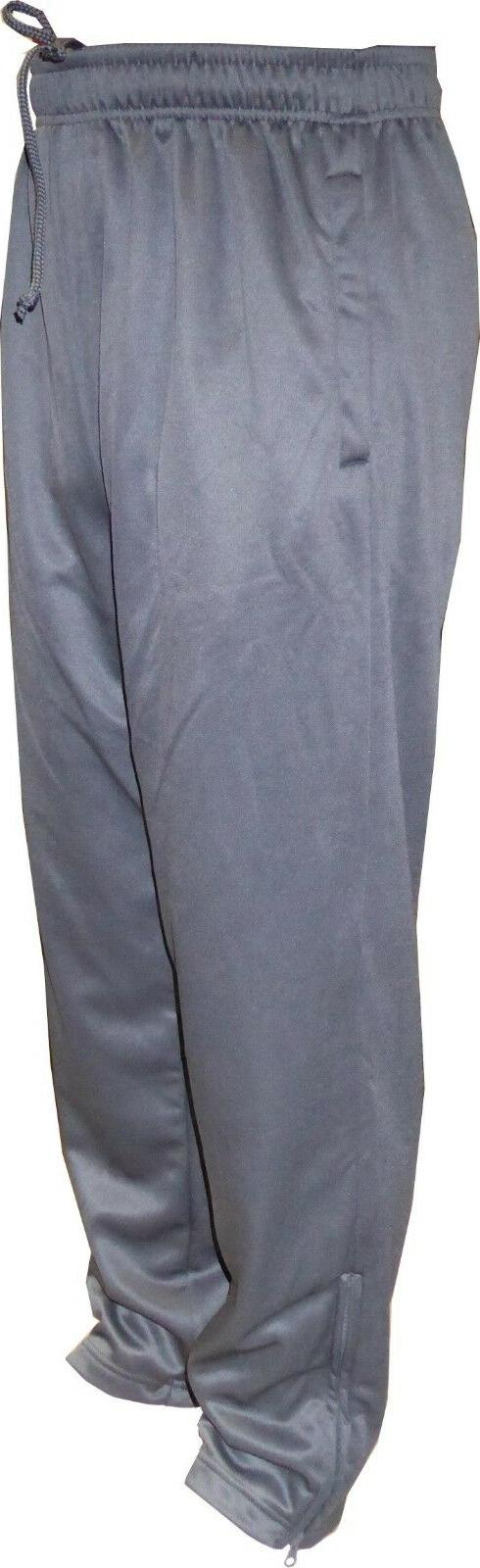 adult performance joggers sweatpants zippers pockets