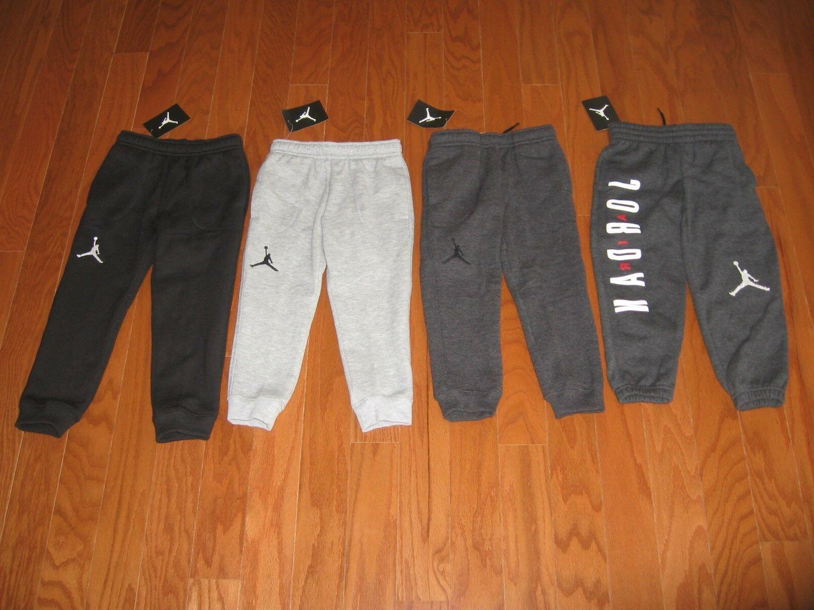 air jordan boys athletic fleece jogger size