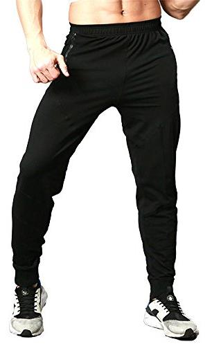 TBMPOY Sport Jogger with Zipper Pockets