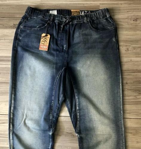 AXEL CUFF BLUE JEANS WASHED MENS