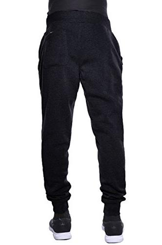 Hat and Fleece Pants Drawstring Slim Trousers