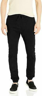 Southpole Big and Tall Basic Stretch Twill Jogger Pants-Reg