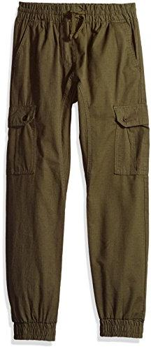 Southpole Boys' Big Jogger Pants Washed Ripstop Fabric Cargo