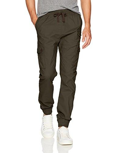 big tall jogger pants washed