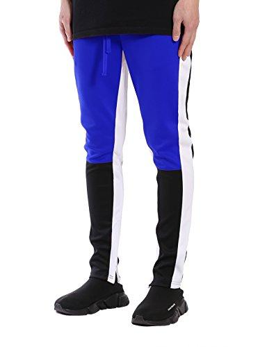 block track pants zip bottom