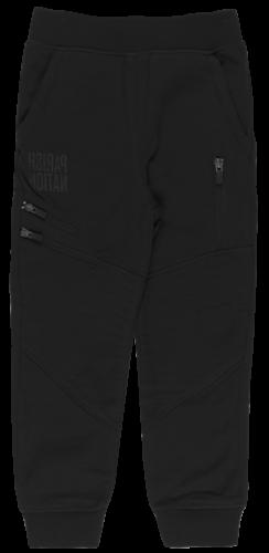 BOYS PARISH NATION MOTO ZIP JOGGER PANTS TEENS FLEECE BOTTOM