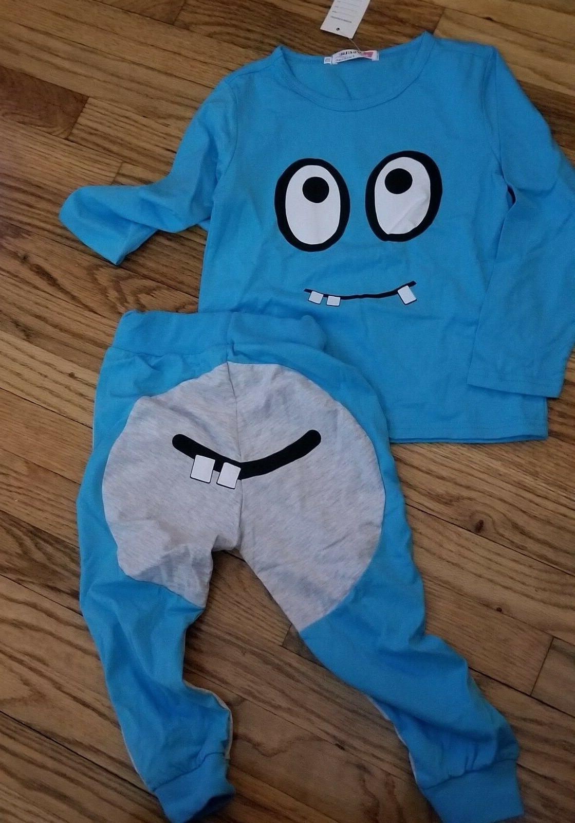boys outfit joggers and shirt