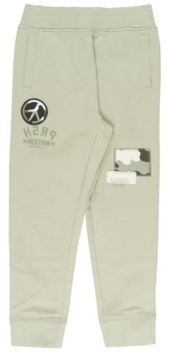 BOYS PARISH NATION PEACE JOGGER PANTS KIDS TEEN FRENCH TERRY