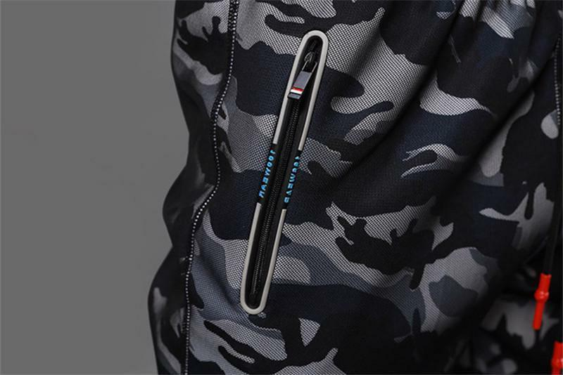 Camouflage Gym Men Fitness Clothing Sweatpants