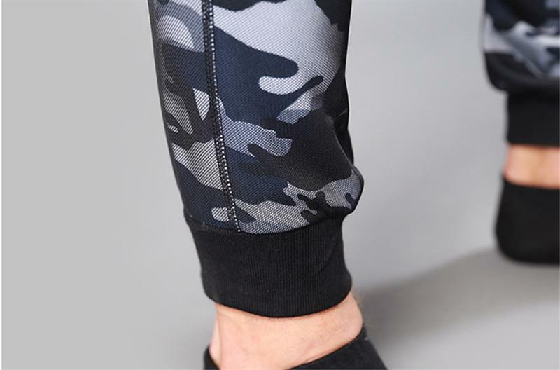 Camouflage Men Fitness Clothing