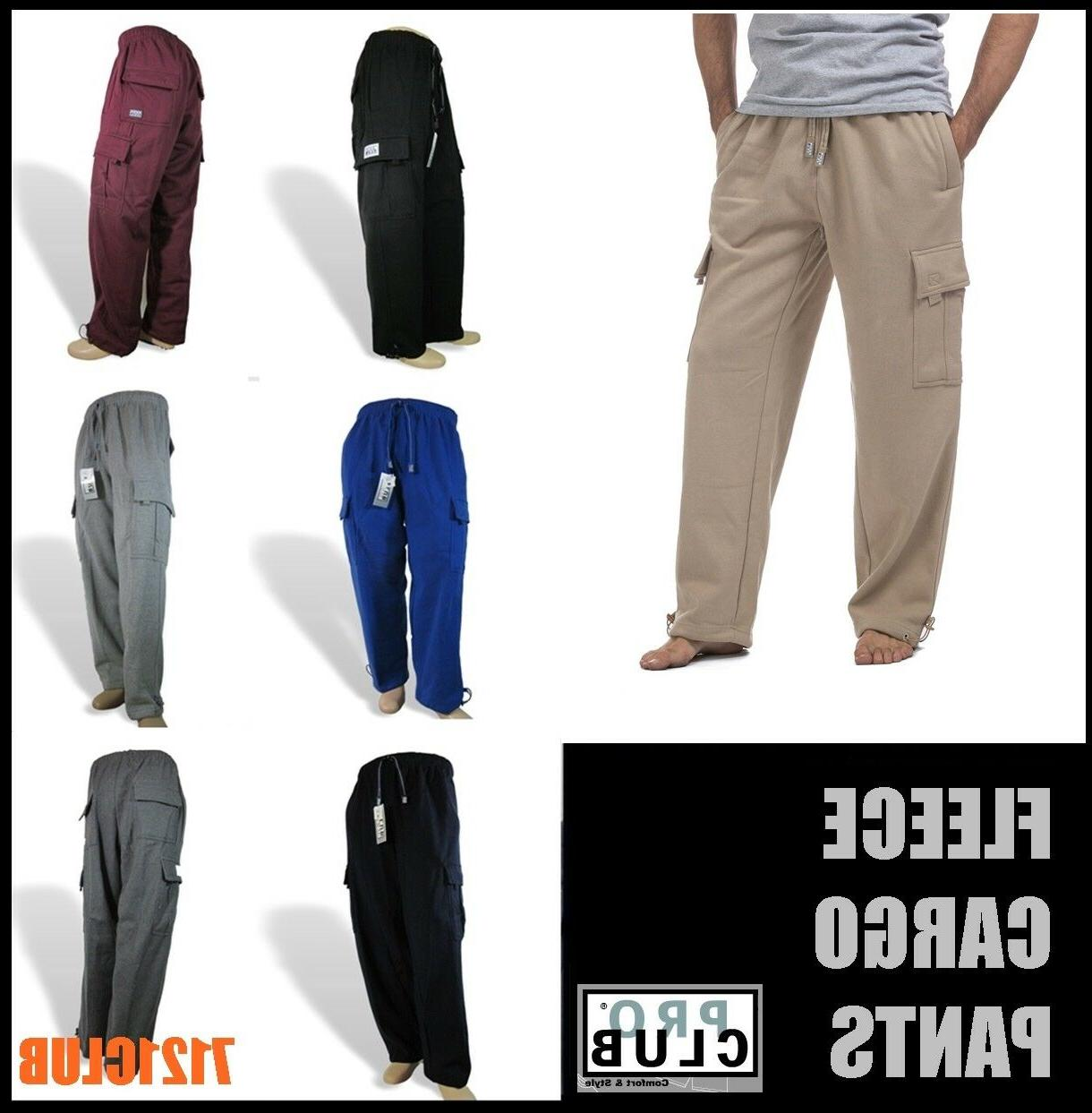 cargo pants proclub men s heavyweight sweat