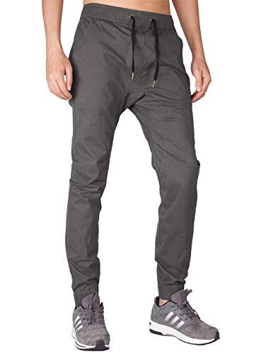 chino jogger khaki casual pants