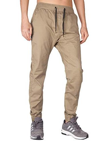 chino jogger sweatpants casual pants