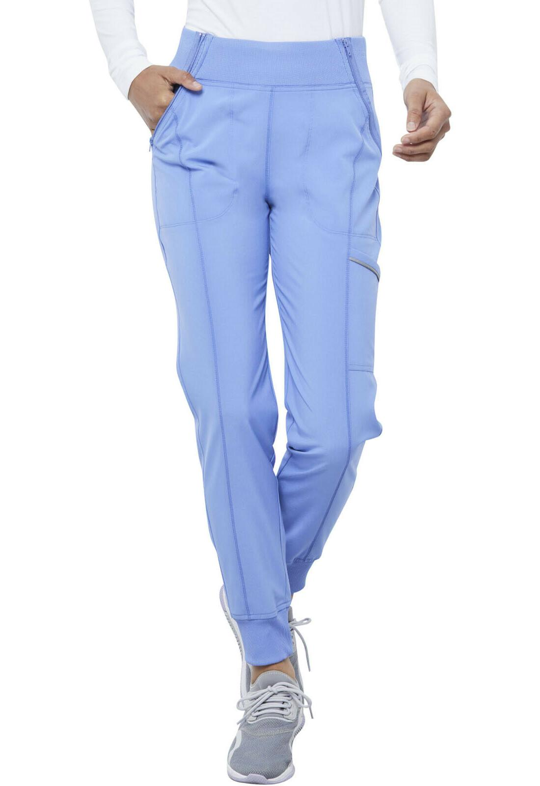 ciel blue scrubs infinity mid rise tapered