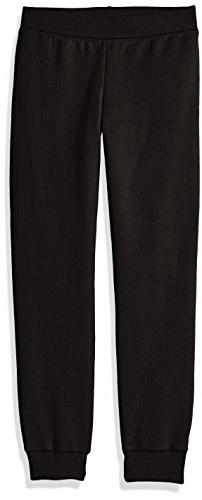 Hanes ComfortSoft3; EcoSmart Girls' Jogger Sweatpants Black