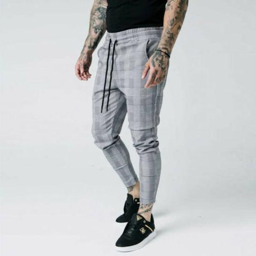 Fashion Striped Casual Pants Skinny Trousers