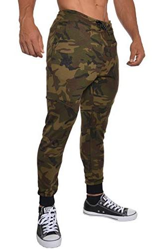 french terry cotton sweatpants jogger pants camouflage