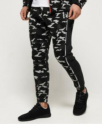 gym tech taped joggers