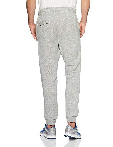NIKE Mens Jogger Club Fleece Obsidian/White