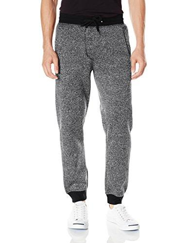 jogger pants basic fleece solid