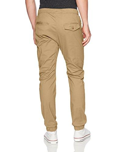 WT02 Men's Jogger in Basic Solid Colors and Light